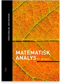 Matematisk analys En variabel